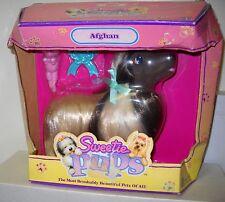 #5847 NIB Vintage Hasbro Sweetie Pups Afghan Dog