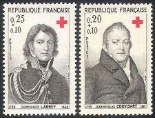 France 1964 Red Cross/Medical/Health/Welfare/People 2v (n29187)