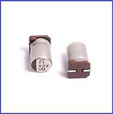 (6pcs) 82uf 35v Nichicon SMD Aluminum Electrolytic Capacitors 8x12mm UU