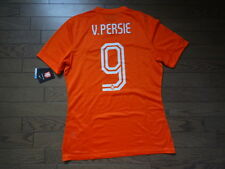 Netherlands #9 v Persie 100% Authentic Player Issue Soccer Jersey L 2014 Home