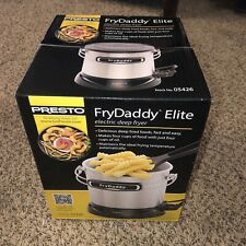 Presto FryDaddy Elite 05426 Deep Fryer Electric 4 Cups (NEW, NEVER BEEN USED)