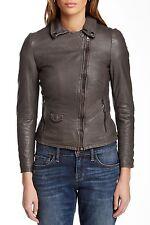 NWT Muubaa Lyme Lamb Leather Biker Motorcycle Jacket Womens SZ US 6/UK 10/EU 38