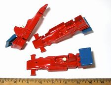 3pc1980s Strombecker Canada 1:32 FORMULA ONE F1 Slot Car BODY Unused 870017 Nice