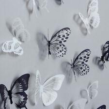 Butterfly 3D Wall Stickers Home Art Decoration Crystal Diamond 36pcs Wedding