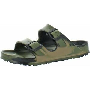 Birkenstock Mens Arizona Camoflage Slip On Footbed Sandals Shoes BHFO 5491