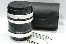 Canon FD fit Vivitar AT-4 Macro Extension Tubes set fits FD camera/Lens 36,20,12