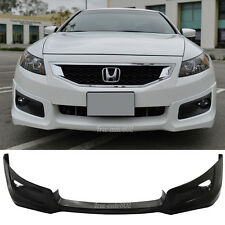 Fit For 08-10 Honda Accord Coupe HFP Style PU Front Bumper Lip Poly Urethane