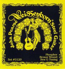 NEW JOHN PEARSE WEISSENBORN OPEN TUNING ACOUSTIC GUITAR STRINGS DGDGBD
