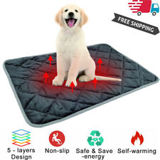 Pet Thermal Mat - Self Warming Heating Hot Pad for Pets For Cat Dog Bed Us Stock