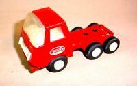 VINTAGE 1970S RED TONKA TOY MINI SEMI TRACTOR TRUCK PRESSED STEEL