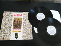 "ABBA THE COLLECTOR SERIES 2 X LP 12"" G+/VG UK EDITION 1988 CASTLE COMUNICATION"