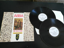 """ABBA THE COLLECTOR SERIES 2 X LP 12"""" G+/VG UK EDITION 1988 CASTLE COMUNICATION"""