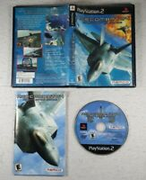 Ace Combat 04: Shattered Skies (Sony Playstation 2 PS2, 2001) Complete CIB