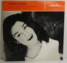 "DALIDA - Dalida in Paris , Single-EP 7"" Vinyl , 4 Titel"