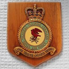 RAF Technical Training Command METAL Plaque - Royal Air Force Badge Shield