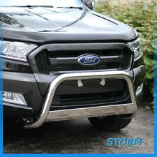 MACH Front Bar, Bull Bar, Nudge Bar EU APPROVED 63MM For Ford Ranger T6 12-19