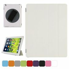 TKOOFN Smart Cover 360 Degree Rotatable Back Case - iPad 2/3/4, Stylus/Protector