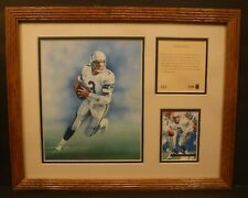 1994 Original Kelly Russell Studios Lithograph Of Rick Mirer - Ready For Action