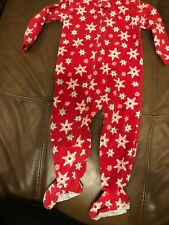 Warm Holiday Snowflakes Pajamas Size 24 Months