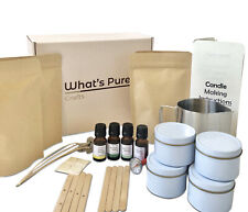 Candle Making Kit, Includes Soy Wax, Essential Oils, Melting Pitcher, & More