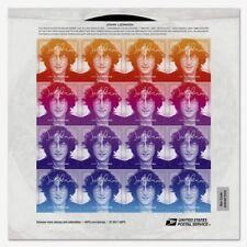JOHN LENNON BEATLES USA #5313 2018 ROCK MUSIC LEGEND ICON 16 FOREVER STAMP SHEET