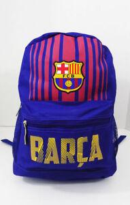 Fc barcelona backpack messi bag school mochila bookbag cinch soccer fcb licensed