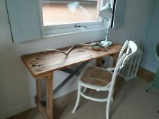 Upcycled Reclaimed Pallet Wood Desk/ Console Table suitable for any room