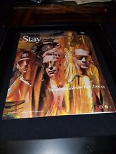 U2 Stay Far Away, So Close Rare Original Promo Poster Ad Framed! #3