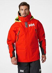 Helly Hansen Skagen Offshore Sailing Waterproof Jacket 33907/147 Cherry Tomato
