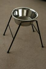 Classic Single Dish High Feeder For Dogs 37cm Stand 28cm 4000ml Dish