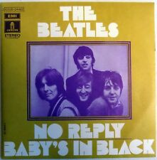 "Beatles - No Reply - France - 7"" Single - Picture Sleeve - 1973 - NEW"