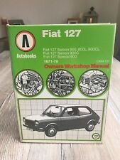 Fiat 127 Autobooks Manual Saloon 1971 1979 900 900L 900C 900CL Special 900