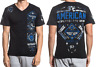 American Fighter Mens Short Sleeve T-Shirt McCORMICK Black Camo S-L $40 NWT