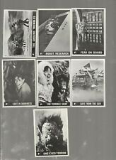 Lot of 7 Topps 1966 Lost in Space cards in Vg with slight creasing