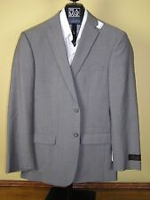 $650 New Jos A Bank JOSEPH taupe stripe pattern suit 38 R 32 W Slim fit