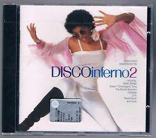 DISCO INFERNO 2 CHIC SISTER SLEDGE SLAVE  CD F.C. SIGILLATO!!!