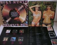 Roxy Music 2LP+inserts LOT