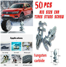 50PCS Big Size Tungsten Carbide Car Tires Studs Screw Ice Snow Spike Snow Chains