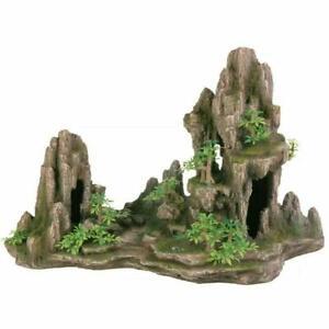 Trixie Rock Formation, Caves, Plants Aquarium Ornament Fish Tank Decoration 45cm
