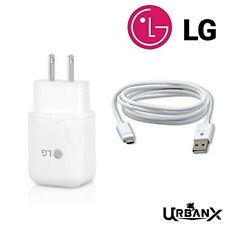 Original LG Fast Charge Adapter Travel/ Wall Charger with free Micro USB Cable!