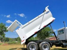 NEW 16' DUMP BED CONSTRUCTION STYLE 1/4 GAUGE PNEUMATIC TAILGATE TRUCK BED BODY