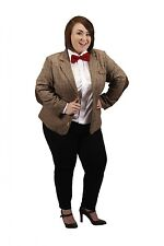 Doctor Who Licensed Eleventh Doctor Woman's Jacket Plus Official BBC Costume