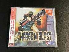 Charge`N Blast SIMS Sega Dreamcast DC JAPAN Import NEW sealed T-4402M