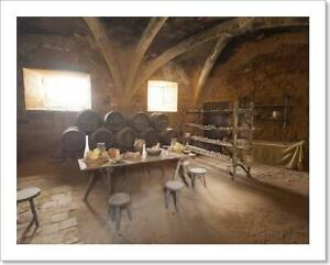 Medieval Kitchen Art Print / Canvas Print. Poster, Wall Art, Home Decor - D