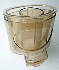 Cuisinart DLC-7 PRO Large Pusher Sleeve Chute Vntg Replacement Part Amber Japan