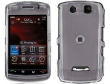 Snap On Plastic Phone Protector Cover Smoke For BlackBerry Storm 9530 9500