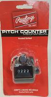 Rawlings Baseball Softball Pitch Counter Mechanical Black, Click/Tally Counter