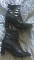 Russell and Bromley Size 5 Leather Ankle Boots