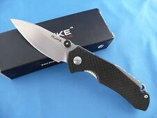 Ruike P671-CB Carbon Fiber Overlay Liner Lock Folder Knife 14C28N Stainless