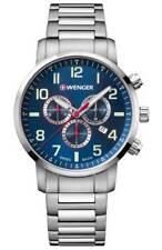 Wenger Victorinox Swiss Mens Attitude Chronograph Ronda 5030.D Watch 01.1543.101